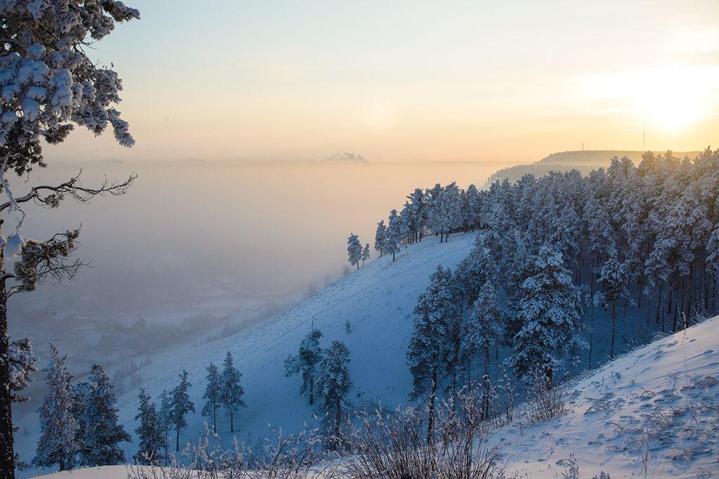 Картинки зима якутия